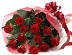 Şanlıurfa çiçek siparişi sitesi  10 adet kipkirmizi güllerden buket tanzimi