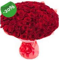 Özel mi Özel buket 101 adet kırmızı gül  Şanlıurfa çiçek siparişi sitesi