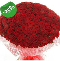 151 adet sevdiğime özel kırmızı gül buketi  Şanlıurfa İnternetten çiçek siparişi