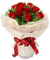 12 adet kırmızı gül buketi  Şanlıurfa çiçek siparişi sitesi
