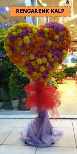 Ankara mevsim çiçeklerinden kalp perförje  Şanlıurfa çiçek mağazası , çiçekçi adresleri