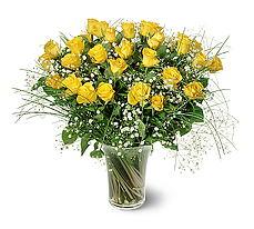 Şanlıurfa İnternetten çiçek siparişi  15 adet sarigül mika yada cam vazoda
