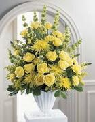 Şanlıurfa İnternetten çiçek siparişi  sari güllerden sebboy tanzim çiçek siparisi