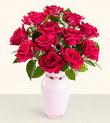 Şanlıurfa online çiçekçi , çiçek siparişi  10 kirmizi gül cam yada mika vazo tanzim