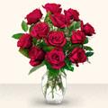 Şanlıurfa çiçek online çiçek siparişi  10 adet gül cam yada mika vazo da