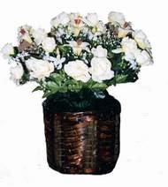 yapay karisik çiçek sepeti   Şanlıurfa çiçek , çiçekçi , çiçekçilik