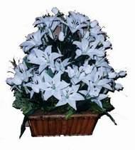 yapay karisik çiçek sepeti   Şanlıurfa çiçek satışı