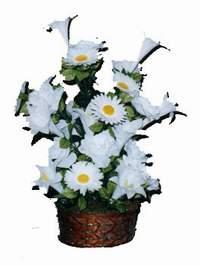 yapay karisik çiçek sepeti  Şanlıurfa çiçekçi telefonları