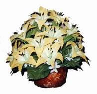 yapay karisik çiçek sepeti   Şanlıurfa İnternetten çiçek siparişi