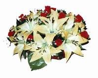 yapay karisik çiçek sepeti   Şanlıurfa çiçek gönderme