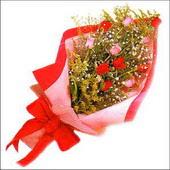 12 adet renkli  gül buketi   Şanlıurfa çiçek yolla , çiçek gönder , çiçekçi