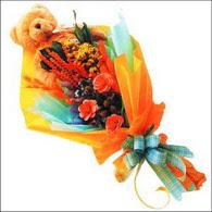 ayicik gül ve kir çiçekleri   Şanlıurfa çiçek yolla , çiçek gönder , çiçekçi