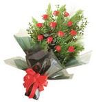 12 adet kirmizi gül buketi   Şanlıurfa çiçek yolla , çiçek gönder , çiçekçi