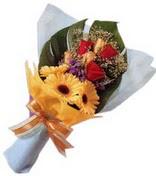 güller ve gerbera çiçekleri   Şanlıurfa hediye sevgilime hediye çiçek