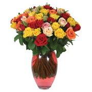 51 adet gül ve kaliteli vazo   Şanlıurfa hediye sevgilime hediye çiçek