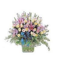 sepette kazablanka ve güller   Şanlıurfa çiçek servisi , çiçekçi adresleri