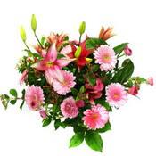 lilyum ve gerbera çiçekleri - çiçek seçimi -  Şanlıurfa çiçek servisi , çiçekçi adresleri