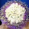 71 adet beyaz gül buketi   Şanlıurfa güvenli kaliteli hızlı çiçek