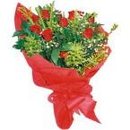 10 adet kirmizi gül buketi  Şanlıurfa çiçek online çiçek siparişi