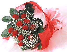 12 adet kirmizi gül buketi  Şanlıurfa çiçek , çiçekçi , çiçekçilik