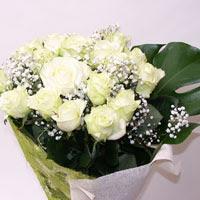 Şanlıurfa online çiçekçi , çiçek siparişi  11 adet sade beyaz gül buketi
