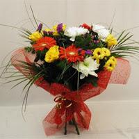 Şanlıurfa online çiçekçi , çiçek siparişi  Karisik mevsim demeti