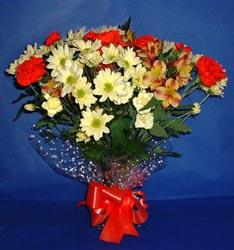 Şanlıurfa online çiçekçi , çiçek siparişi  kir çiçekleri buketi mevsim demeti halinde