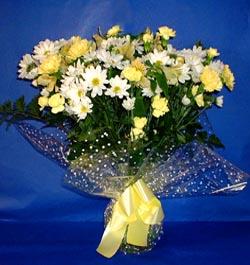 Şanlıurfa online çiçekçi , çiçek siparişi  sade mevsim demeti buketi sade ve özel