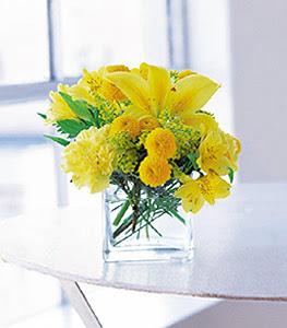 Şanlıurfa yurtiçi ve yurtdışı çiçek siparişi  sarinin sihri cam içinde görsel sade çiçekler