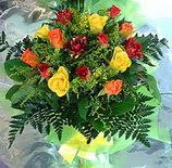 13 adet karisik gül buketi demeti   Şanlıurfa hediye çiçek yolla