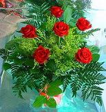 6 adet kirmizi gül buketi   Şanlıurfa çiçek satışı