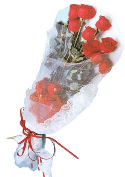 11 adet kirmizi güller buket tanzimi   Şanlıurfa İnternetten çiçek siparişi
