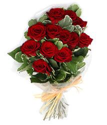 Şanlıurfa 14 şubat sevgililer günü çiçek  9 lu kirmizi gül buketi.