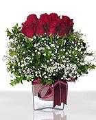 Şanlıurfa güvenli kaliteli hızlı çiçek  11 adet gül mika yada cam - anneler günü seçimi -