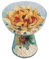 Şanlıurfa İnternetten çiçek siparişi  Cam içerisinde 4 adet kandil orkide