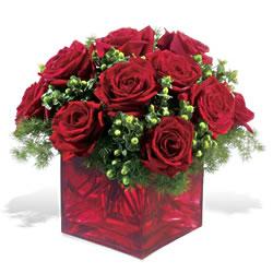 Şanlıurfa çiçek online çiçek siparişi  9 adet kirmizi gül cam yada mika vazoda