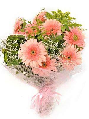 Şanlıurfa kaliteli taze ve ucuz çiçekler  11 adet gerbera çiçegi buketi