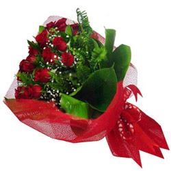 Şanlıurfa online çiçek gönderme sipariş  12 adet kirmizi essiz gül buketi - SEVENE ÖZEL