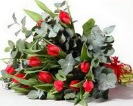 Şanlıurfa kaliteli taze ve ucuz çiçekler  11 adet kirmizi gül buketi özel günler için