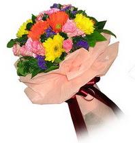 Şanlıurfa çiçek yolla , çiçek gönder , çiçekçi   Karisik mevsim çiçeklerinden demet