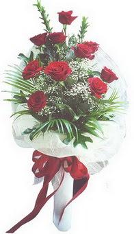Şanlıurfa online çiçekçi , çiçek siparişi  10 adet kirmizi gülden buket tanzimi özel anlara