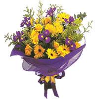 Şanlıurfa hediye sevgilime hediye çiçek  Karisik mevsim demeti karisik çiçekler