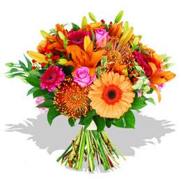 Şanlıurfa çiçek mağazası , çiçekçi adresleri  Karisik kir çiçeklerinden görsel demet