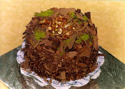 Çikolatali 4 ila 6 kisilik yas pasta  Şanlıurfa hediye sevgilime hediye çiçek