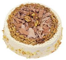 Karamelli 4 ile 6 kisilik yas pasta  Şanlıurfa çiçek online çiçek siparişi