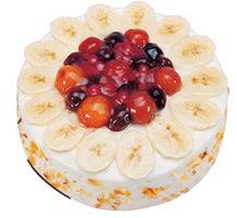 Meyvali 4 ile 6 kisilik yas pasta leziz  Şanlıurfa yurtiçi ve yurtdışı çiçek siparişi