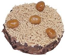 Kestahaneli yas pasta 4 ile 6 kisilik pasta  Şanlıurfa İnternetten çiçek siparişi