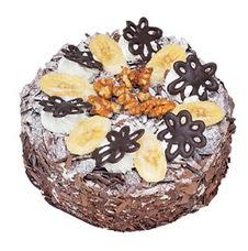 Muzlu çikolatali yas pasta 4 ile 6 kisilik   Şanlıurfa hediye çiçek yolla