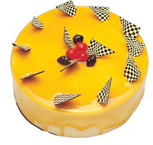 Karemelli yas pasta 4 ile 6 kisilik  leziz  Şanlıurfa çiçekçi telefonları