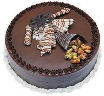 Çikolatali yas pasta 4 ile 6 kisilik  leziz  Şanlıurfa çiçek siparişi vermek